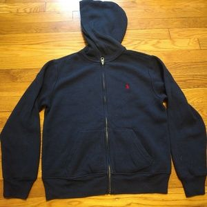 Ralph Lauren Youth M(10-12) Zipup Sweatshirt